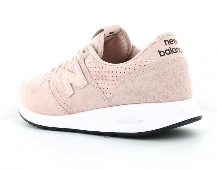 basket new balance rose femme