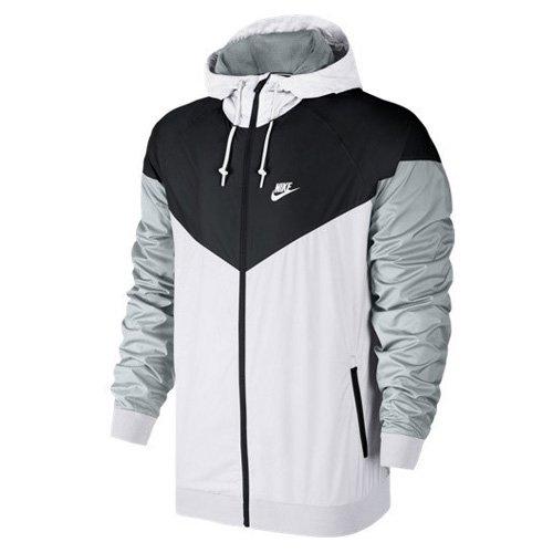 Nike Veste Windrunner M homme Blanc pas cher